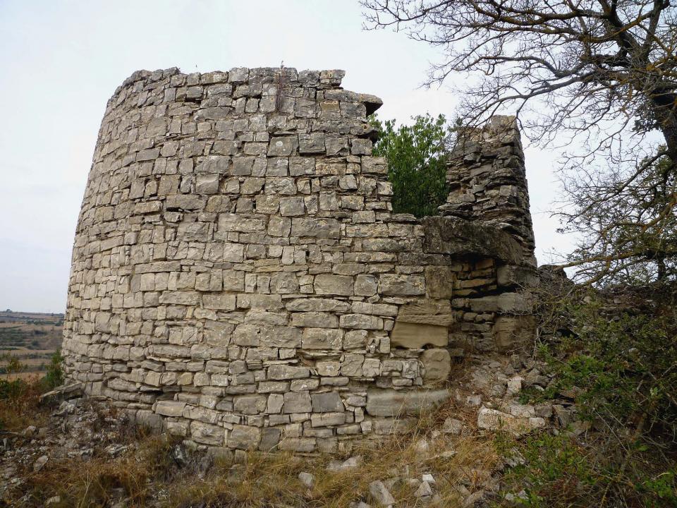 02.09.2013 torre  Les Oluges -  Isidre Blanc