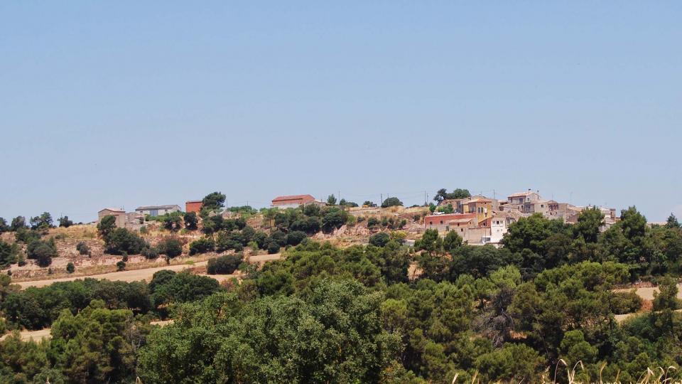 10.07.2016 vista del poble  La Rabassa -  Ramon Sunyer