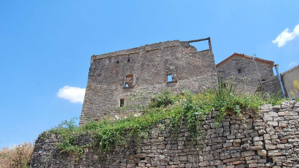 Castle of Sant Guim de la Rabassa - Author Ramon Sunyer (2016)