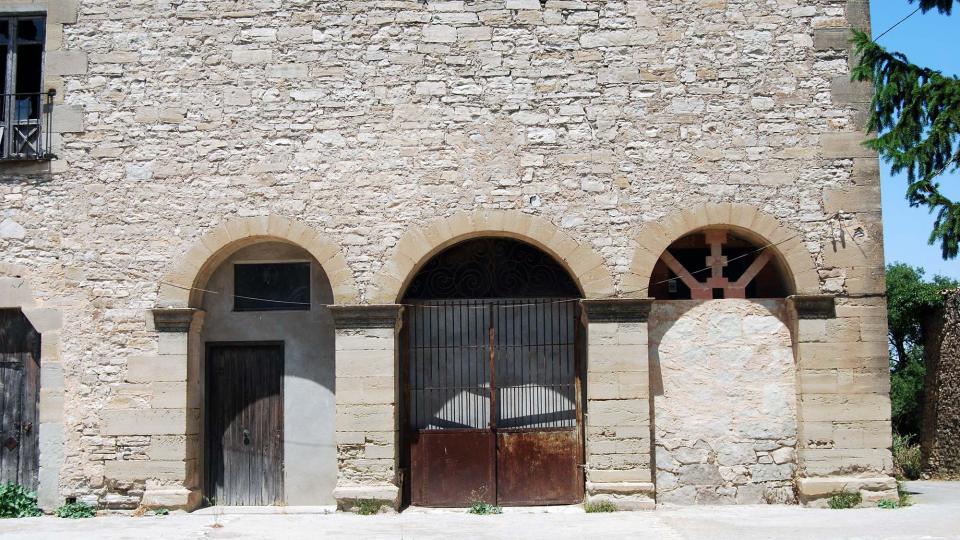 10.07.2016 església del convent jesuïta  Sant Guim de la Rabassa -  Ramon Sunyer