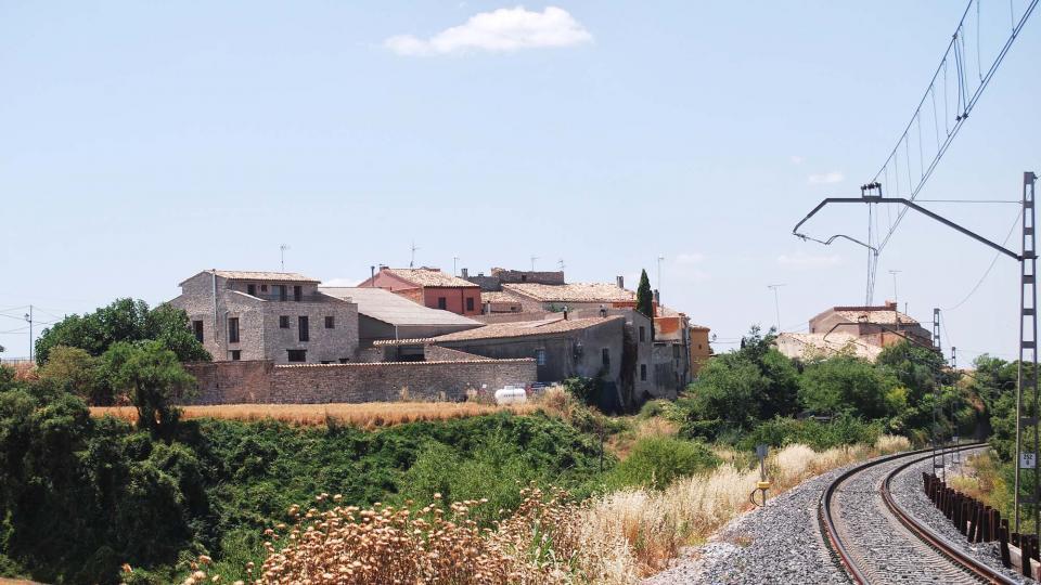 10.07.2016 vista  Sant Guim de la Rabassa -  Ramon Sunyer