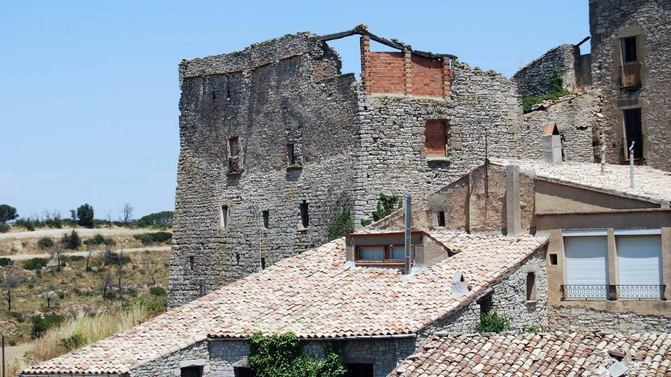 10.07.2016 castell  Sant Guim de la Rabassa -  Ramon Sunyer