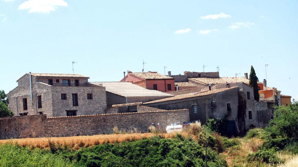 10.07.2016 el poble està format per dos nuclis  Sant Guim de la Rabassa -  Ramon Sunyer