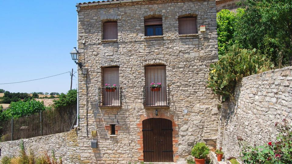 10.07.2016 detall casa  Sant Guim de la Rabassa -  Ramon Sunyer