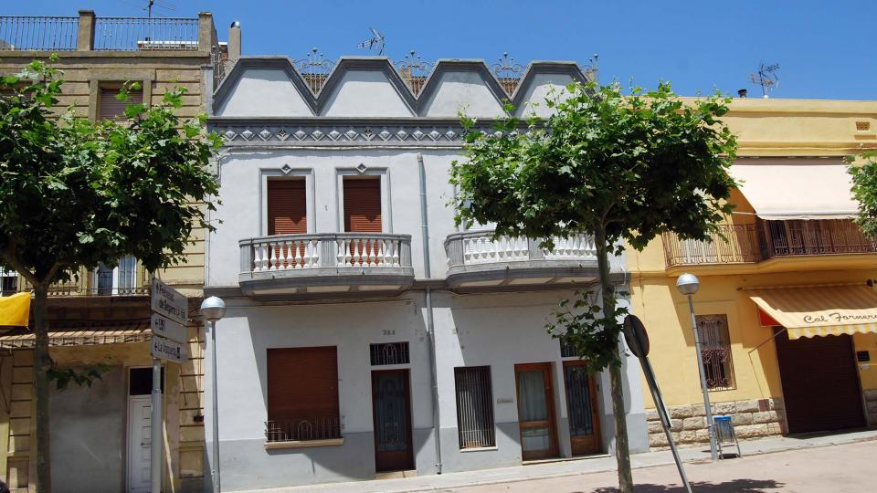 Building Cal Calafell