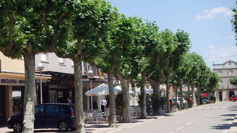 10.07.2016 passeig  Sant Guim de Freixenet -  Ramon Sunyer