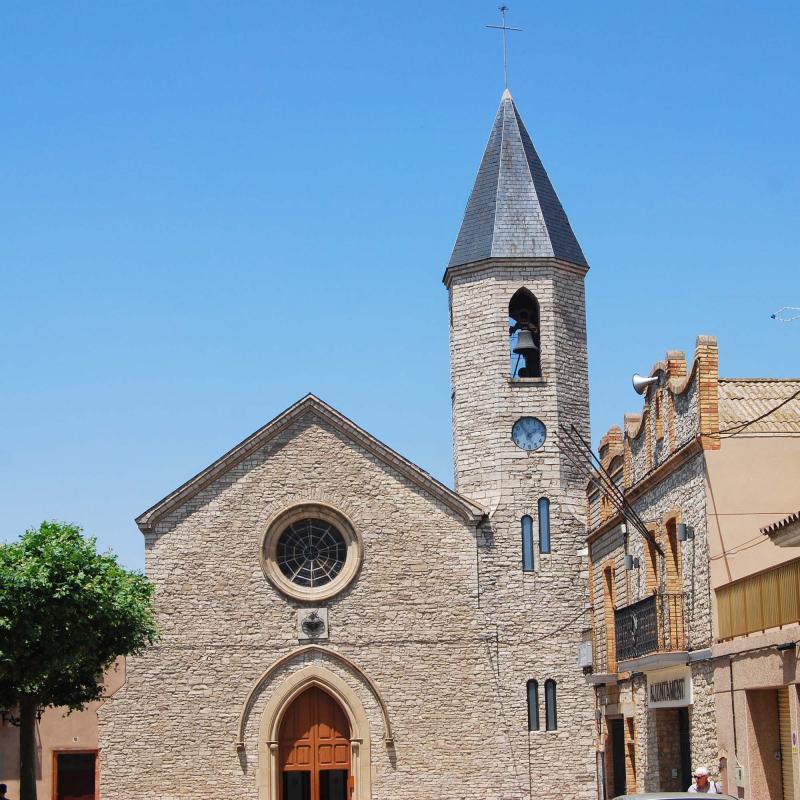 10.07.2016 Església del Sagrat Cor   Sant Guim de Freixenet -  Ramon Sunyer