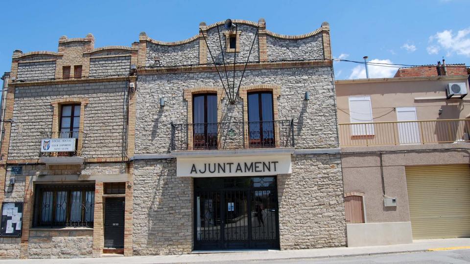 10.07.2016 ajuntament  Sant Guim de Freixenet -  Ramon Sunyer