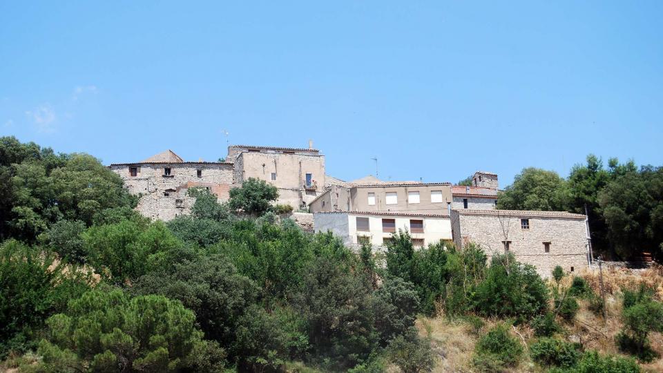 10.07.2016 vista  El Castell de Santa Maria -  Ramon Sunyer