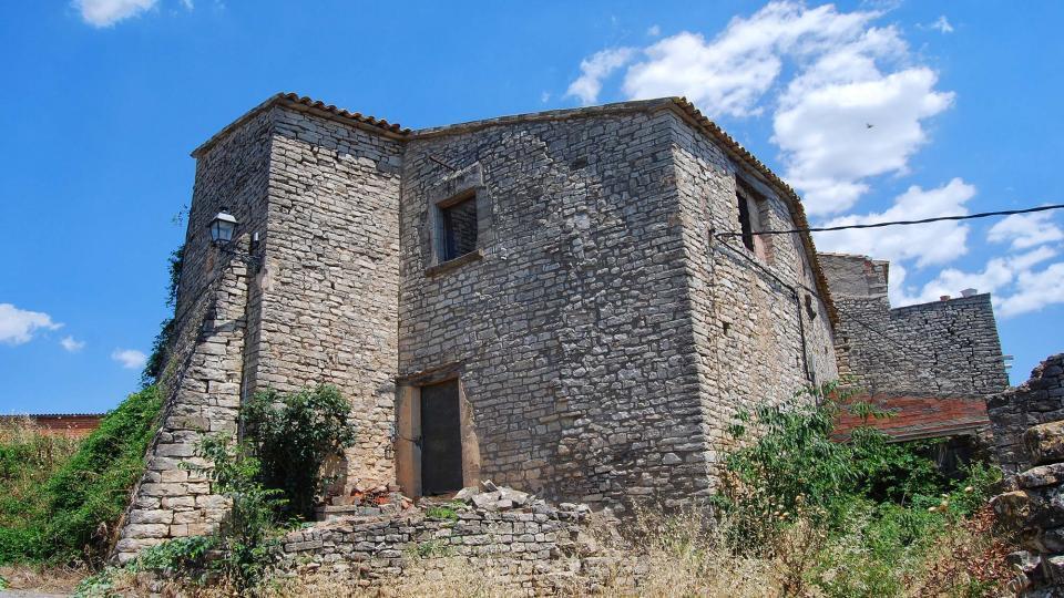 10.07.2016 castell  El Castell de Santa Maria -  Ramon Sunyer