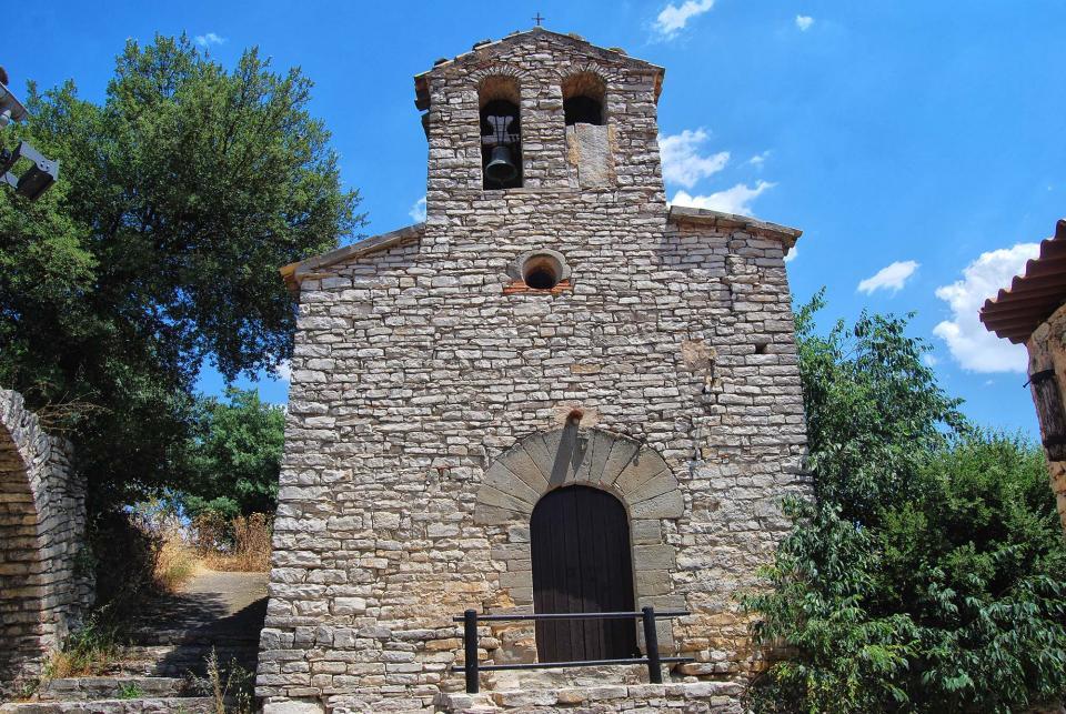 10.07.2016 Església de Santa Maria  El Castell de Santa Maria -  Ramon Sunyer