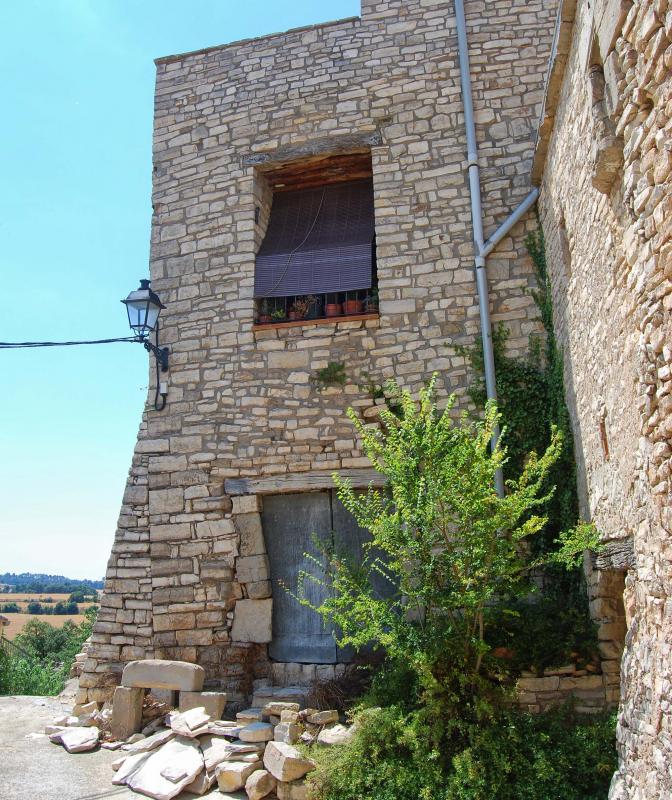10.07.2016 detall casa  El Castell de Santa Maria -  Ramon Sunyer