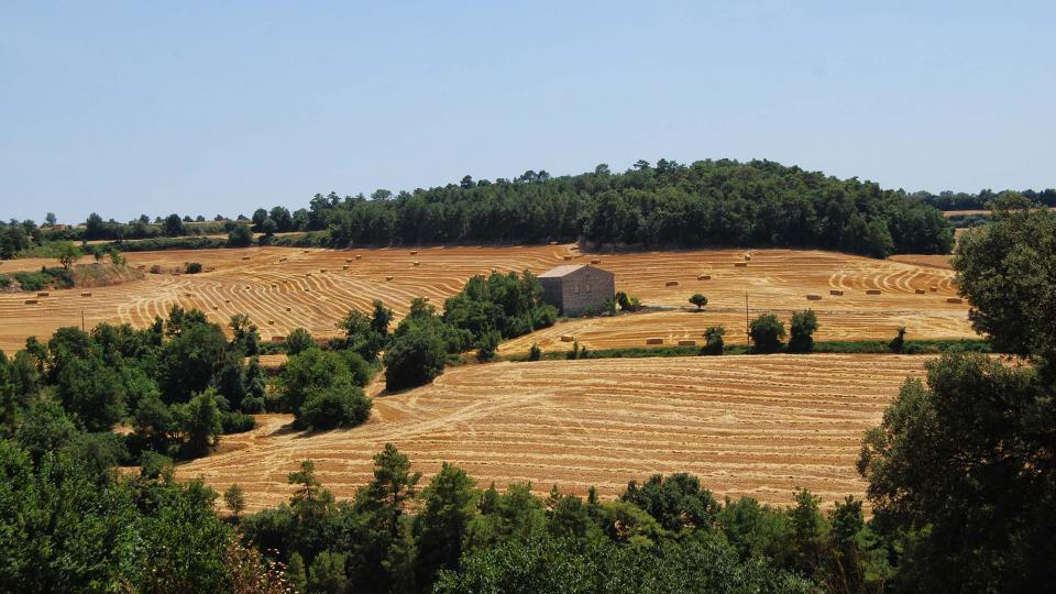 10.07.2016 paisatge  El Castell de Santa Maria -  Ramon Sunyer