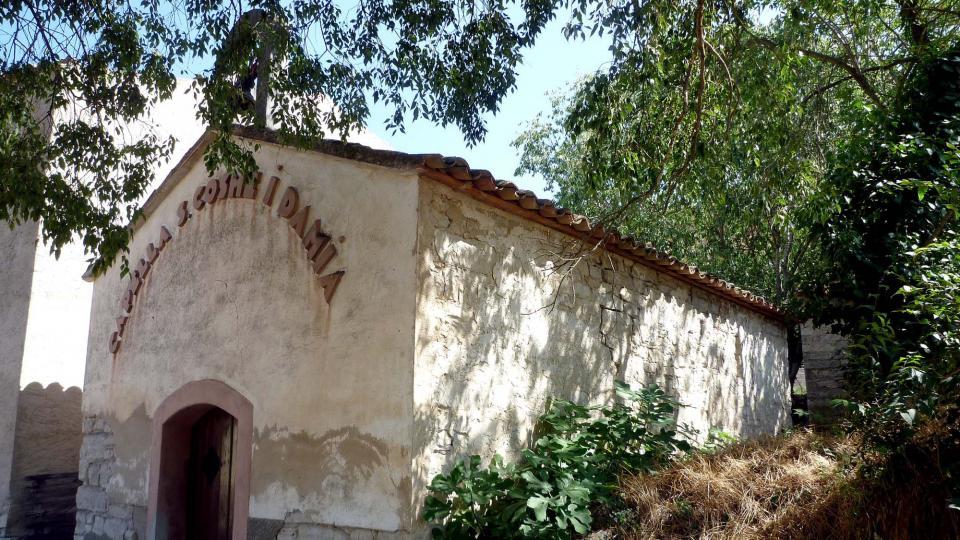 Capella de Sant Cosme i Sant Damià - Autor Isidre Blanc (2013)