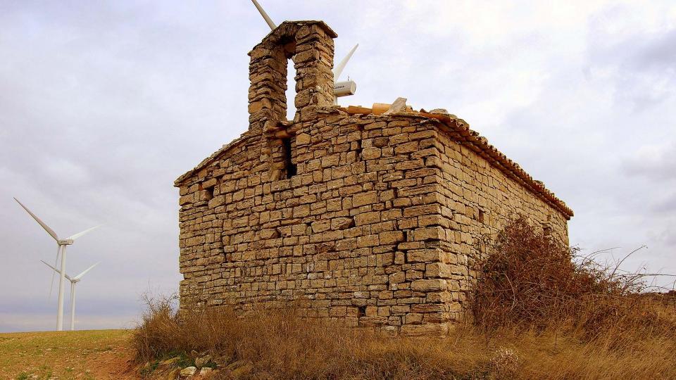 13.01.2011 Capella de Santa Fe de Montfred  Civit -  Àngela Llop