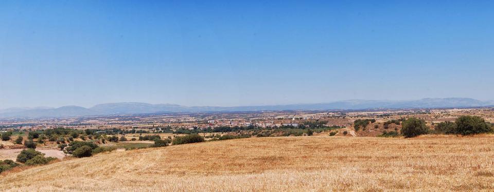 17.07.2016 paisatge  Tarroja de Segarra -  Ramon Sunyer