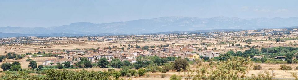 17.07.2016 vista  Tarroja de Segarra -  Ramon Sunyer