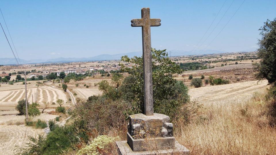 17.07.2016 creu  Tarroja de Segarra -  Ramon Sunyer