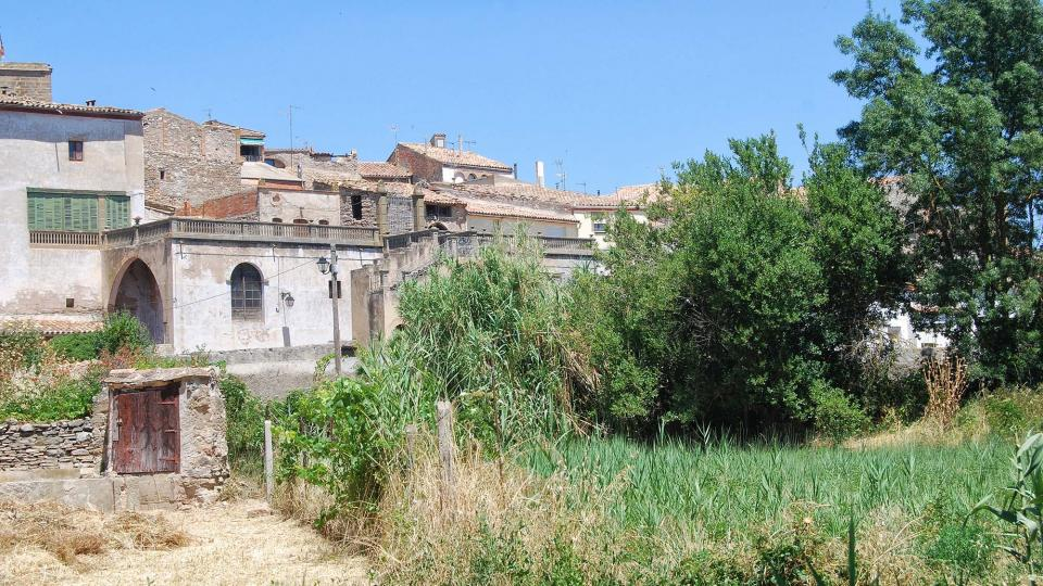 17.07.2016 vista des dels horts  Tarroja de Segarra -  Ramon Sunyer