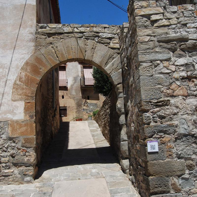 17.07.2016 portal de Baix  Tarroja de Segarra -  Ramon Sunyer