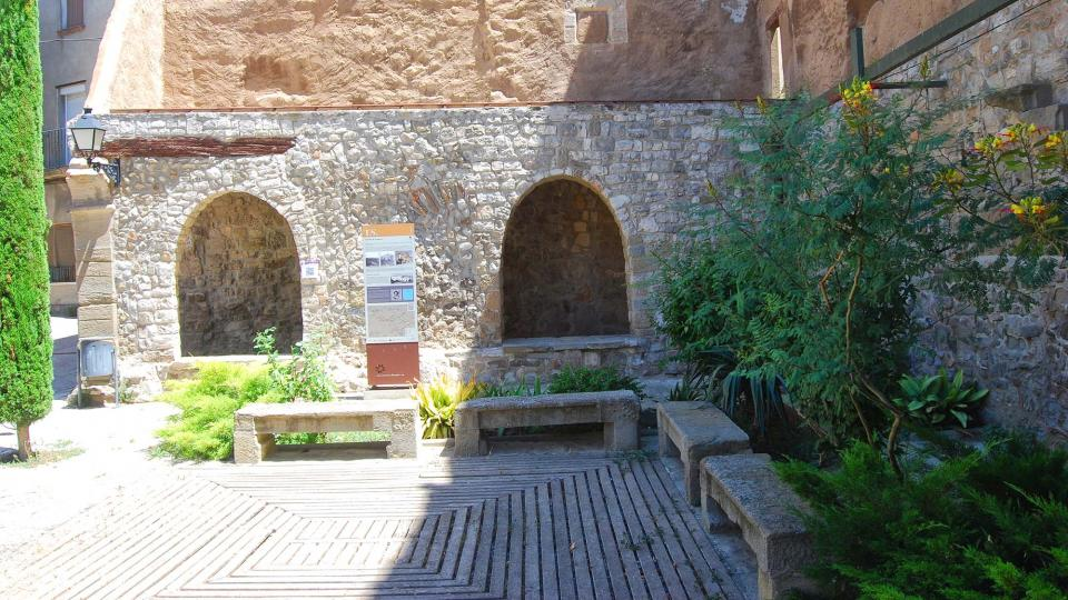 17.07.2016 plaça vella  Tarroja de Segarra -  Ramon Sunyer