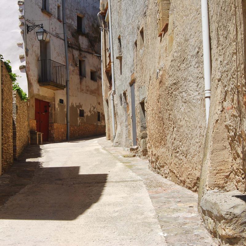 17.07.2016 carrer del molí  Tarroja de Segarra -  Ramon Sunyer