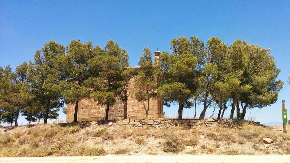 17.07.2016 ermita de sant Julià  Tarroja de Segarra -  Ramon Sunyer