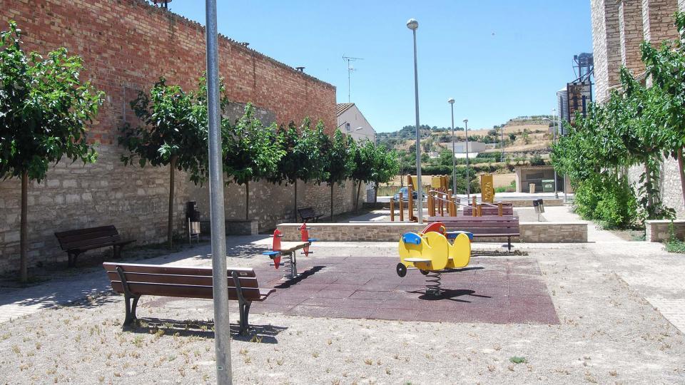 17.07.2016 parc infantil  Sant Antolí i Vilanova -  Ramon Sunyer