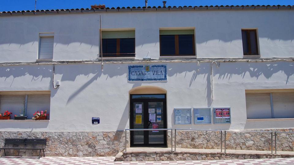 17.07.2016 casa de la vila  Sant Antolí i Vilanova -  Ramon Sunyer