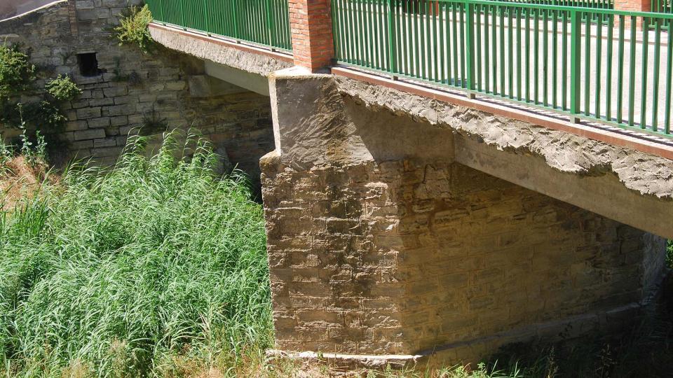 17.07.2016 pont sobre l'Ondara  Sant Antolí i Vilanova -  Ramon Sunyer