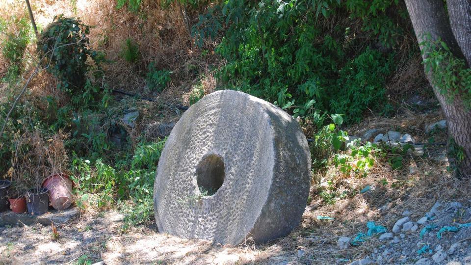 17.07.2016 pedra de molí  Sant Antolí i Vilanova -  Ramon Sunyer