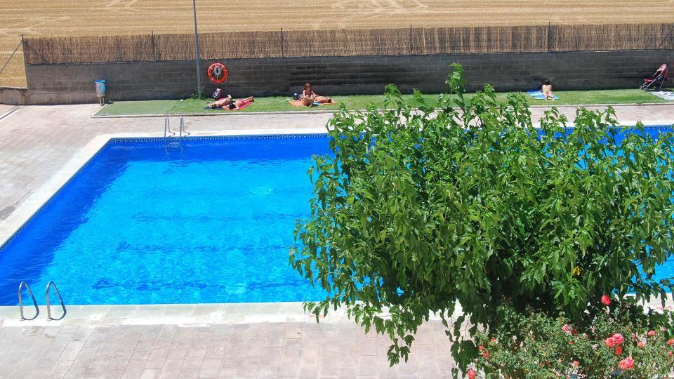 17.07.2016 piscina  Sant Antolí i Vilanova -  Ramon Sunyer
