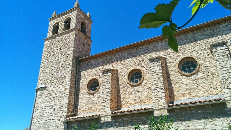 17.07.2016 Església de Santa Maria  Sant Antolí i Vilanova -  Ramon Sunyer