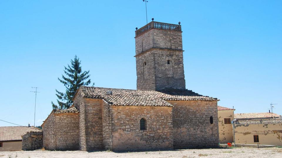 24.07.2016 Església de sant Jaume  Portell -  Ramon Sunyer