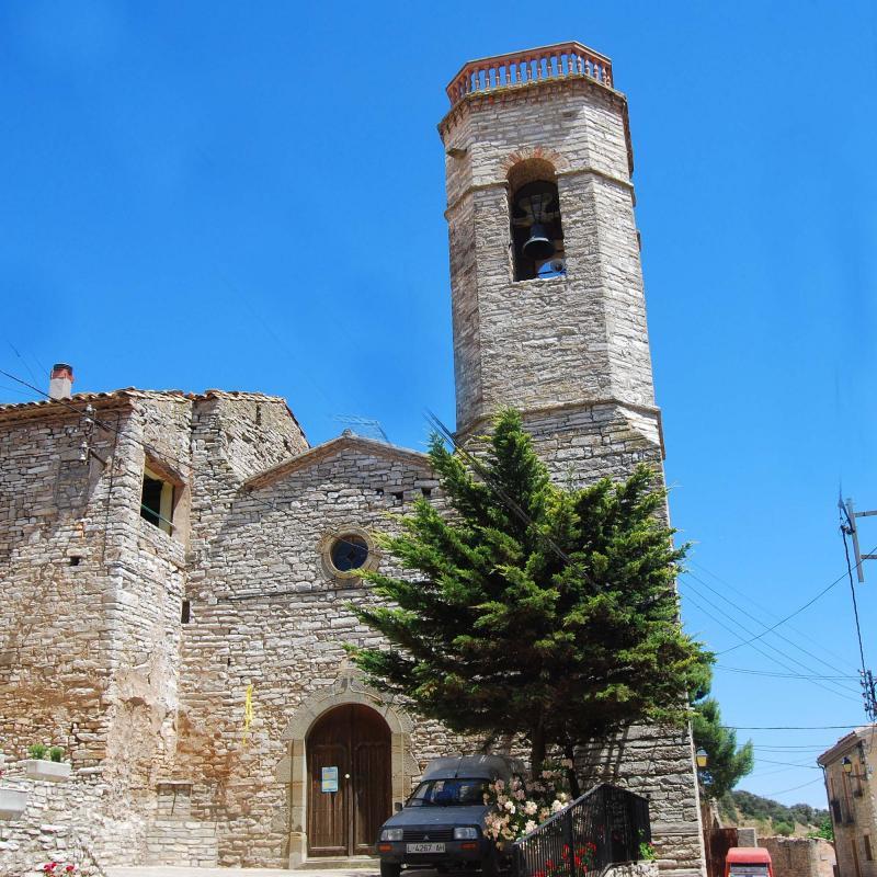 25.07.2016 Església de Santa Maria  Viver de Segarra -  Ramon Sunyer