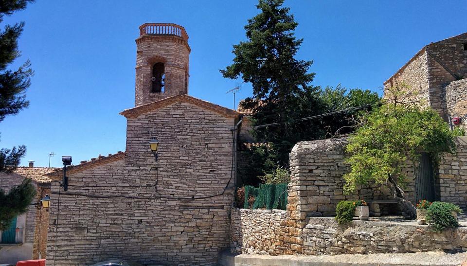 24.07.2016 Església de Santa Maria  Viver de Segarra -  Ramon Sunyer