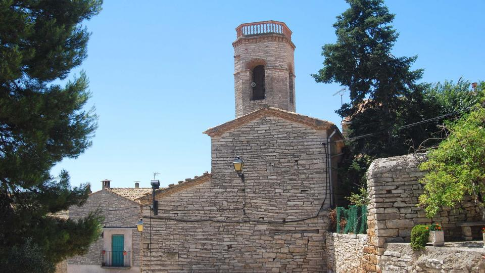 24.07.2016 Església Santa Maria  Viver de Segarra -  Ramon Sunyer