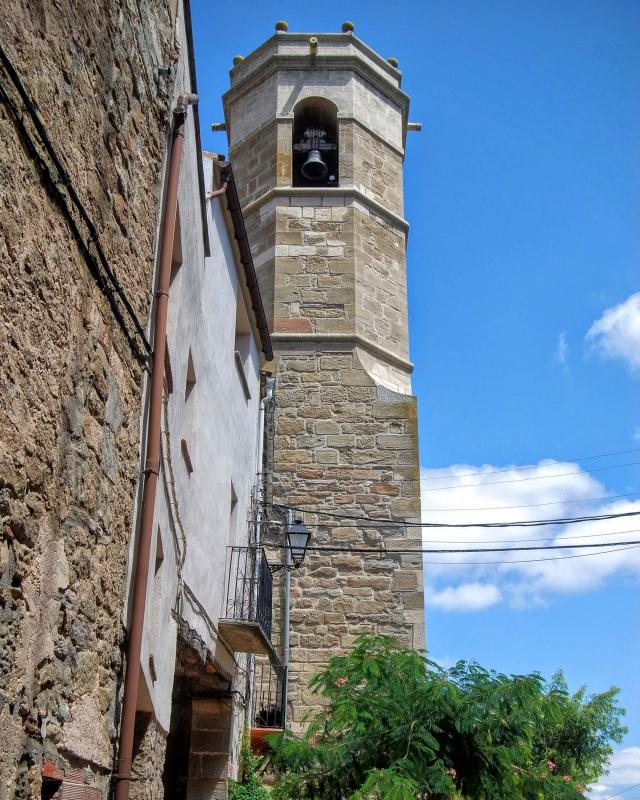 09.08.2015 Església Sant Salvador  Massoteres -  Ramon Sunyer