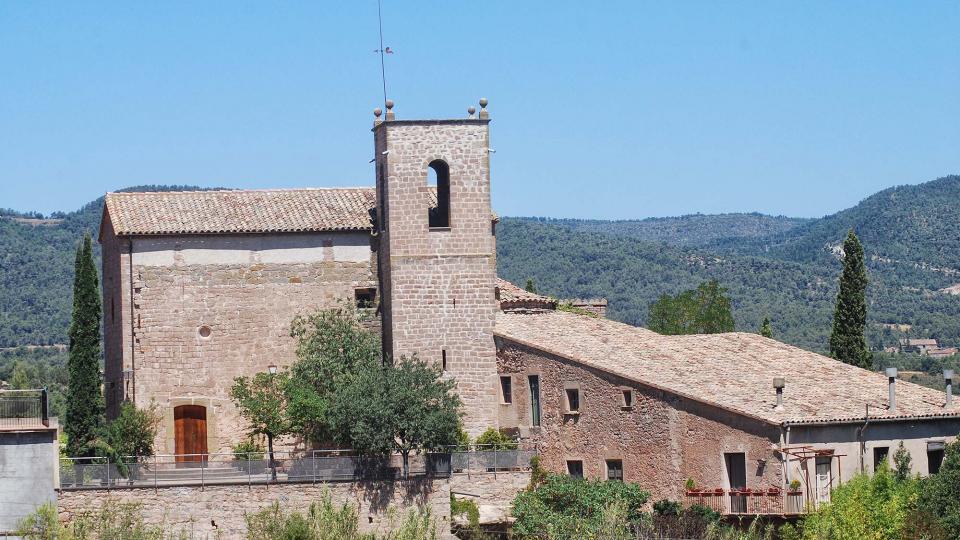 08.08.2016 Església de sant Pere  Sant Pere Sallavinera -  Ramon Sunyer