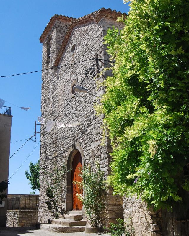 Iglesia de Sant Esteve - Autor Ramon Sunyer (2016)