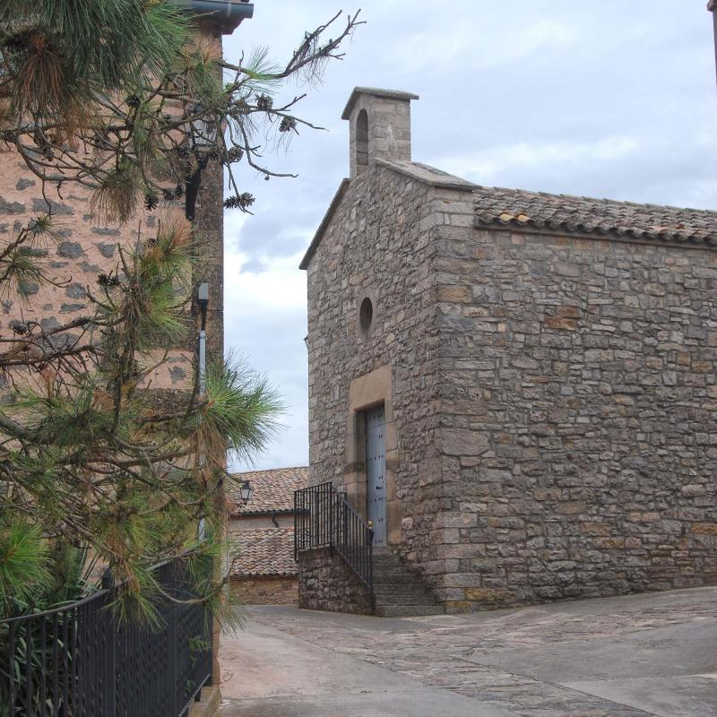 09.08.2016 Església de Sant Jordi  La Llavinera -  Ramon Sunyer