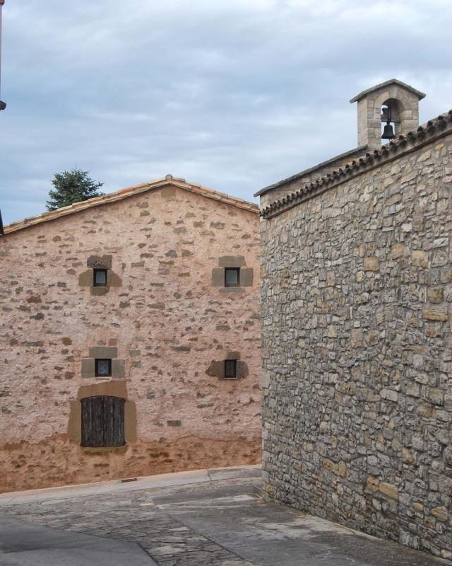 Iglesia de Sant Jordi - Autor Ramon Sunyer (2016)