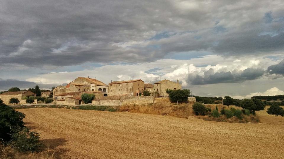 09.08.2016 vista  La Fortesa -  Ramon Sunyer