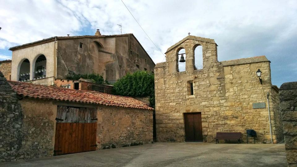 09.08.2016 església de sant Joan  La Fortesa -  Ramon Sunyer
