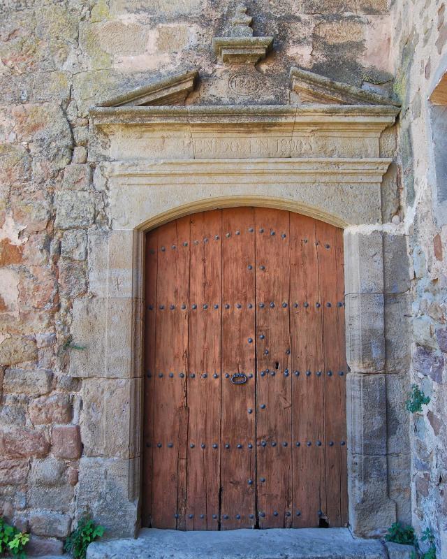 14.08.2016 Església de Santa Maria  Florejacs -  Ramon Sunyer