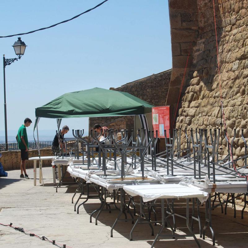 14.08.2016 preparant la festa major  Florejacs -  Ramon Sunyer