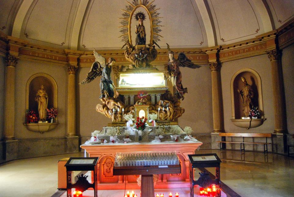 21.08.2016 mausoleu de sant ramon  Sant Ramon -  Ramon Sunyer
