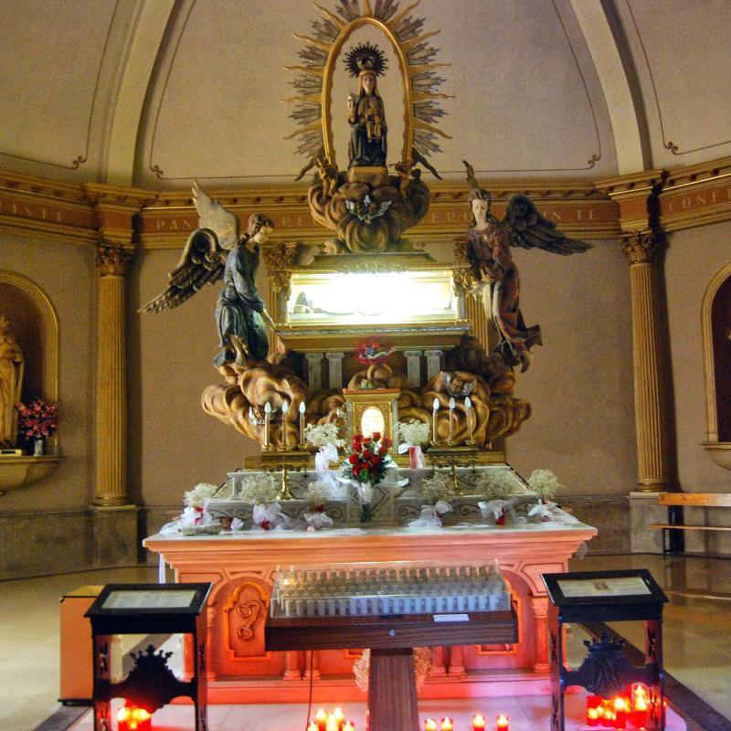 29.08.2016 mausoleu de sant ramon  Sant Ramon -  Ramon Sunyer