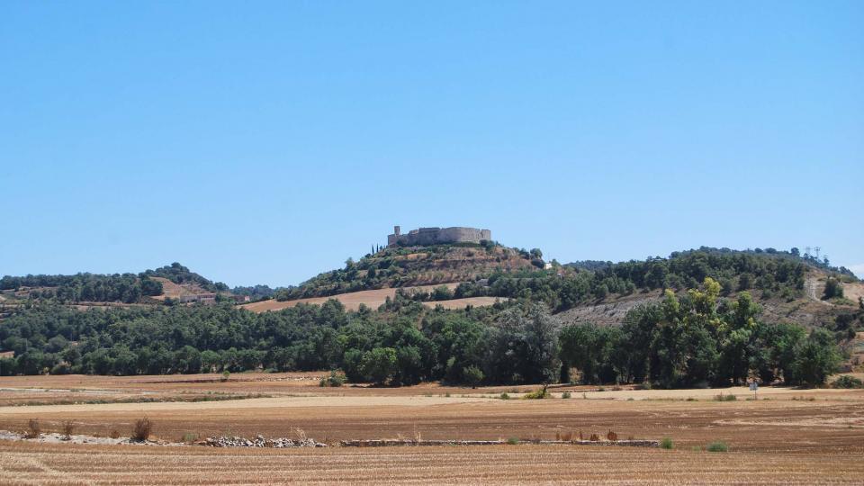 21.08.2016 vista des de les Oluges  Montfalcó Murallat -  Ramon Sunyer