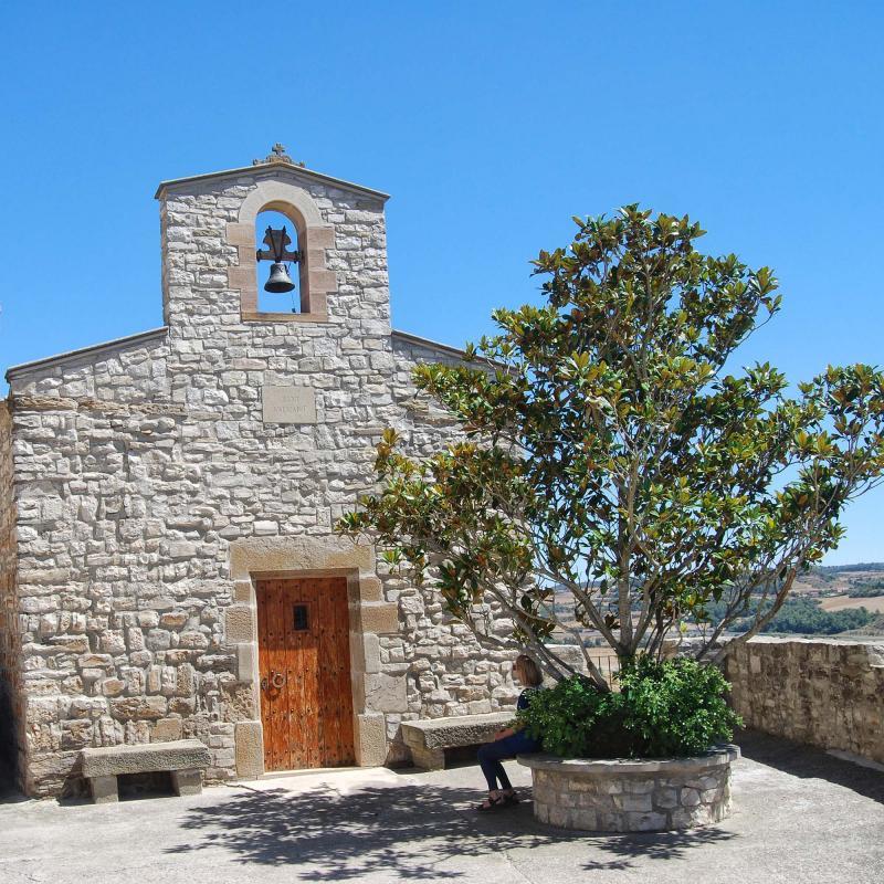 Chapel of Sant Salvador - Author Ramon Sunyer (2016)